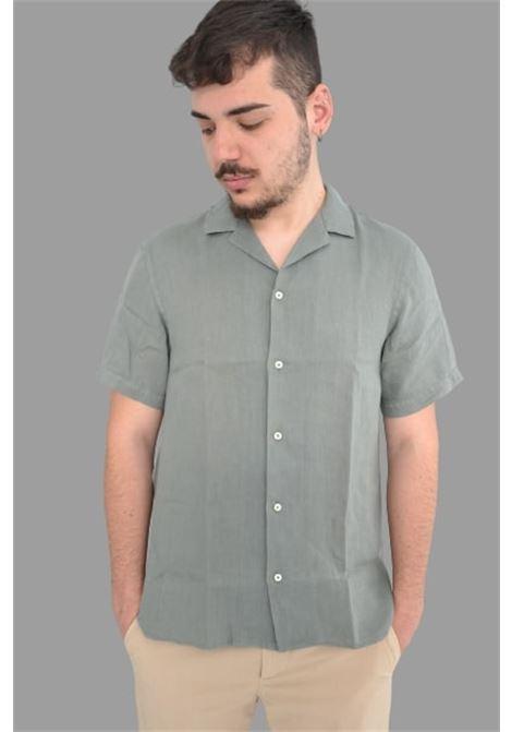 Altea camicia m/m lino baker Altea | 6 | 215400346/R