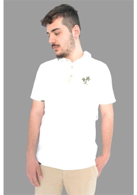 Altea  polo greg  m/c con ricamo colore Bianco Altea | 2 | 215510429/R