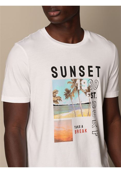 Altea t-shirt lewis stampa fotografica sunset Altea | 8 | 215525002/R