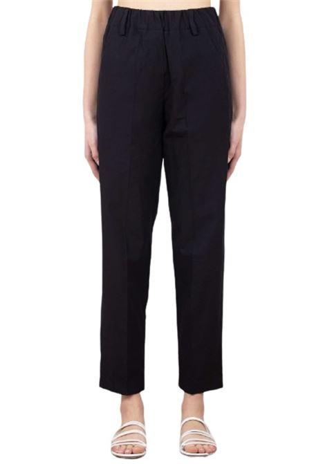 Alysi Pantaloni Popeline nero vita elastica AlYSI | 9 | 101171P12271