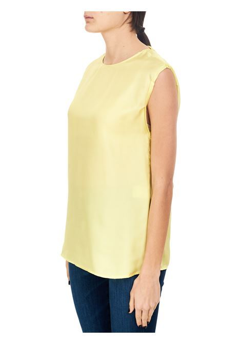 Alysi blusa twill seta scollata AlYSI | 5032269 | 101273P12391