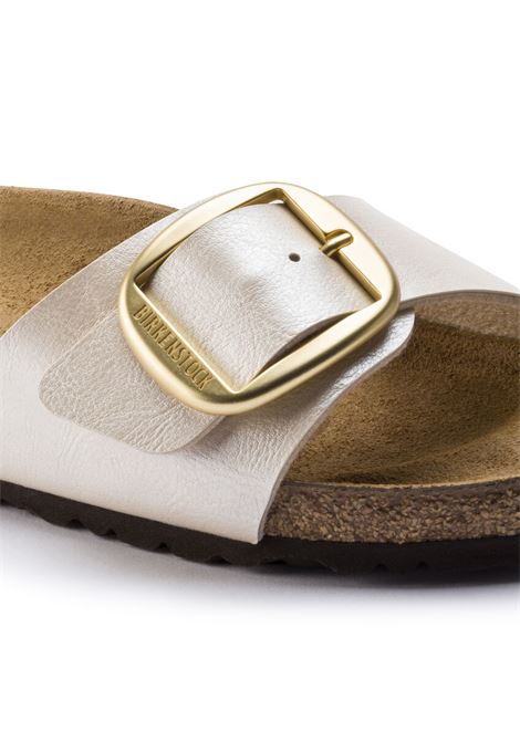 Sandalo Birkenstock Madrid big buckle pearl white BIRKENSTOCK | 5032271 | 10152791