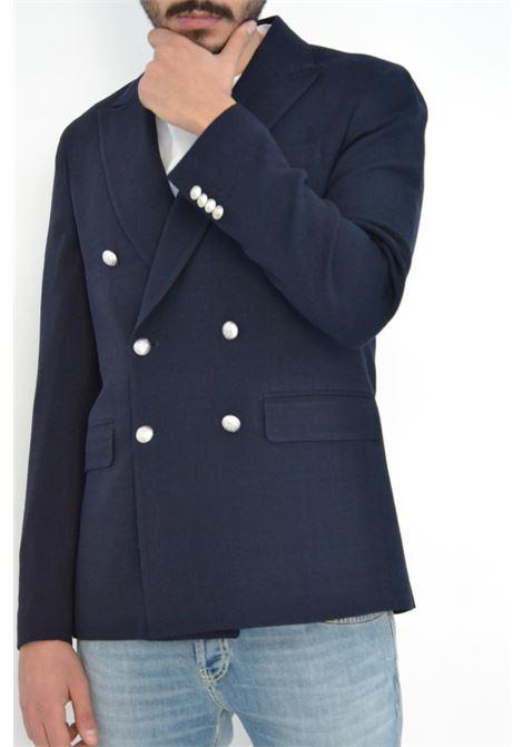 Brian Dales Giacca doppio petto blu navy BRIAN DALES | 3 | G43JK4554001