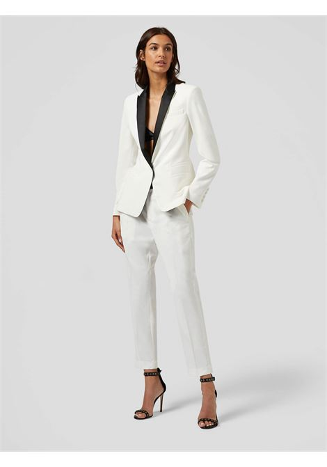 Dondup  smoking donna slim fit bianco DONDUP | 21 | DA012OS0104D001