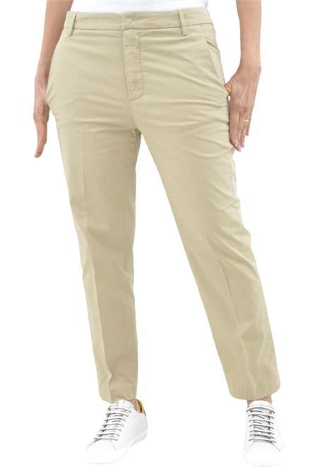 Dondup Pantalone Nima  gabardina Loose Fit DONDUP | 9 | DP576GSE046D019