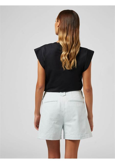 Dondup Top s/m unito con logo DONDUP | 40 | S861JF0234DBM8999