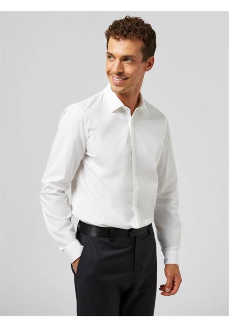 Dondup Camicia slim in Popeline DONDUP | 6 | UC235PS0012U000