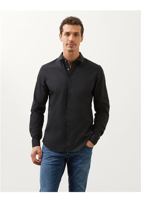 Dondup Camicia slim in Popeline DONDUP | 6 | UC235PS0012U999