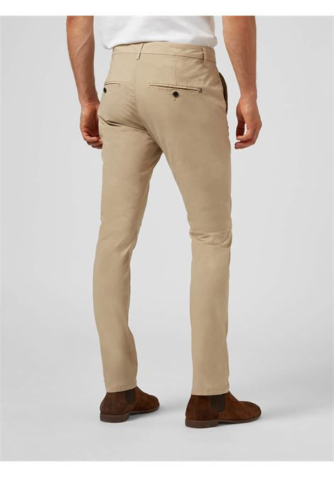 Dondup  Pantalone slim Gaubert in popeline DONDUP | 9 | UP235PS0019UPT4019