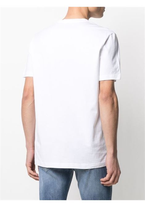 Dondup T-shirt  regular in jersey di cotone con logo metallo DONDUP | 8 | US198JF0283UZL4000