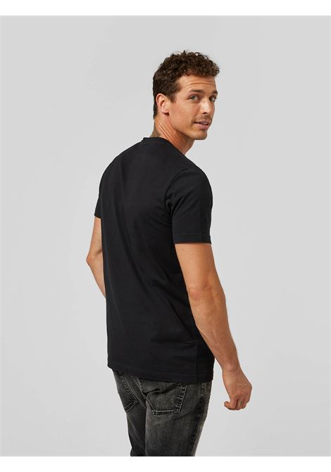 Dondup T-shirt  regular in jersey di cotone con logo metallo DONDUP | 8 | US198JF0283UZL4999