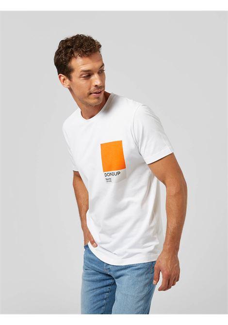 Dondup T-shirt regular in jersey di cotone pantone spritz DONDUP | 8 | US198JF0284UBH4000