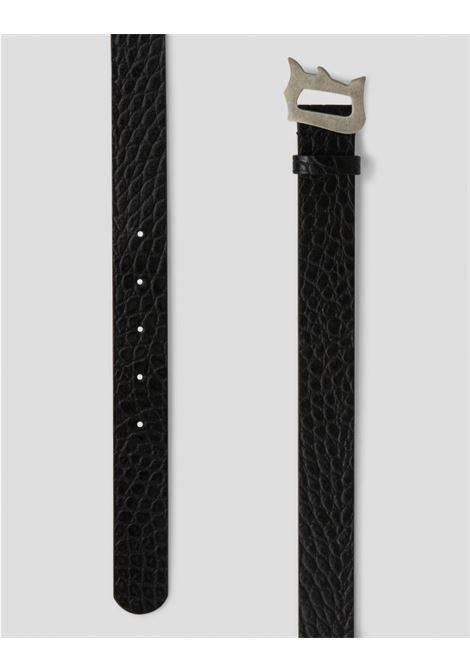 Dondup cintura in cuoio stampa cocco DONDUP | 22 | XC116PL0273U999