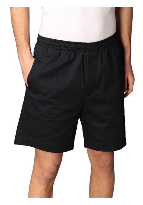 Grifoni pantaloncino elastico basico blu Grifoni | 5 | GI141000/29582