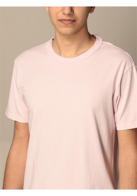 Grifoni Shirt Mezza manica taglio vivo Rosa Grifoni | 8 | GI180001/55876