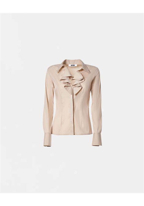 Grifoni camicia Slim con rouches e colletto Grifoni | 6 | GI220002/5512