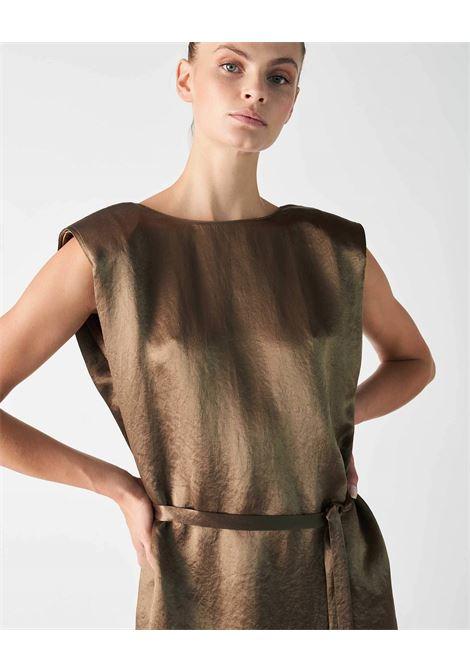 Grifoni abito con cintura e spalline Militare Grifoni | 11 | GI270022/16327
