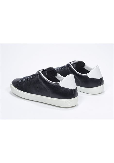 Leather Crown Sneakers in pelle Iconic Low top  LC 06 LEATHER CROWN | 12 | LC0620101W1