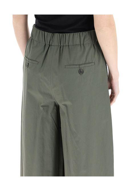 Weekend Max Mara Pantalone Zum Cropped Verde Militare MAX MARA WEEKEND | 9 | 51310811600010