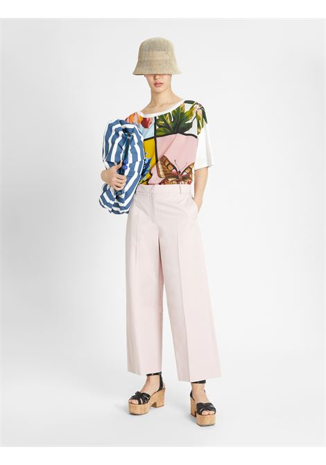 Weekend Max Mara T-shirt in crêpe de Chine di seta MAX MARA WEEKEND | 8 | 59411011600001