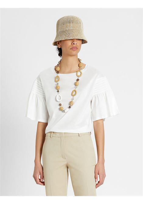 Weekend Max Mara T-shirt in Jersey di cotone MAX MARA WEEKEND | 8 | 59411411650002