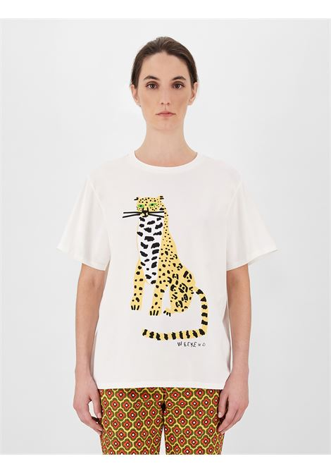 Weekend Max Mara T-shirt in jersey di cotone MAX MARA WEEKEND | 8 | 59710211600009