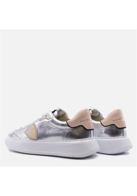Philippe Model Sneakers Temple Metal Argento Philippe Model | 10000002 | BTLDM0011