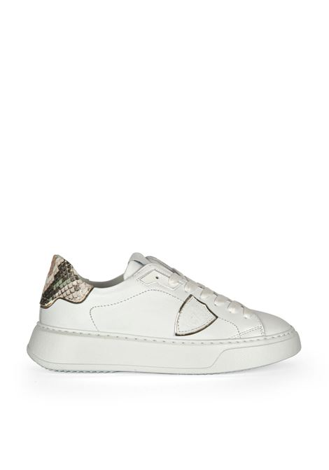 Philippe Model Sneakers Temple Animalier Blanc Philippe Model | 10000002 | BTLDVA021