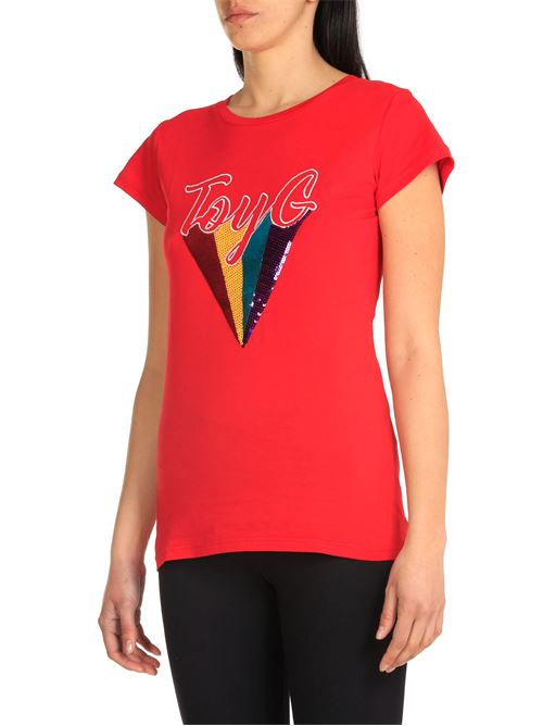 T-shirt Toy G Rosso TOY G flash | T-shirt | MAGDA05