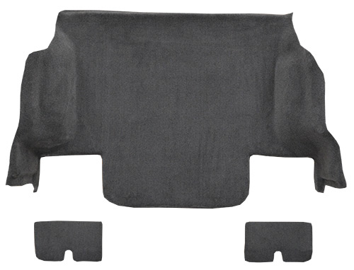2005-2013 Chevrolet Corvette Coupe Rear with Pad Cutpile Factory Fit Carpet