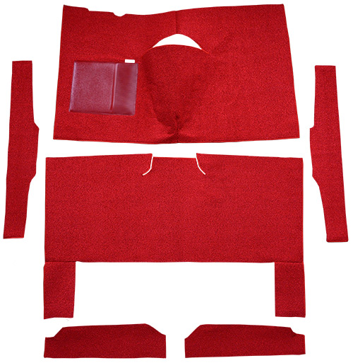 1960-1965 Ford Ranchero Automatic Bench Seat Loop Factory Fit Carpet