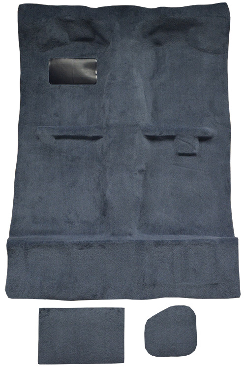 1995-2004 Toyota Tacoma Extra Cab 2 & 4WD with Lid Covers Cutpile Carpet