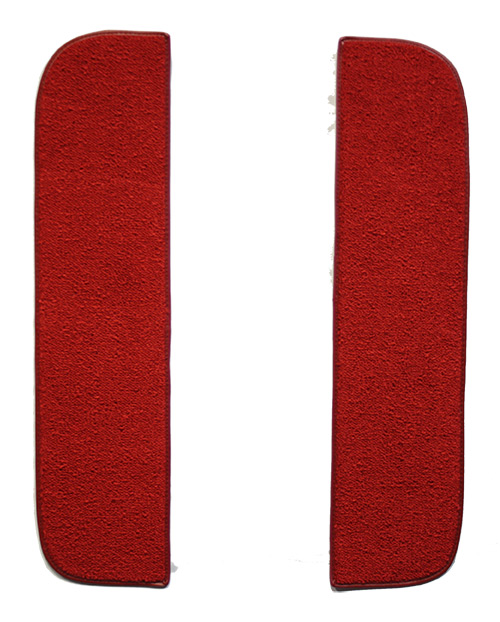 1968-1972 Chevrolet K30 Pickup Door Panel Carpet Inserts with Cardboard