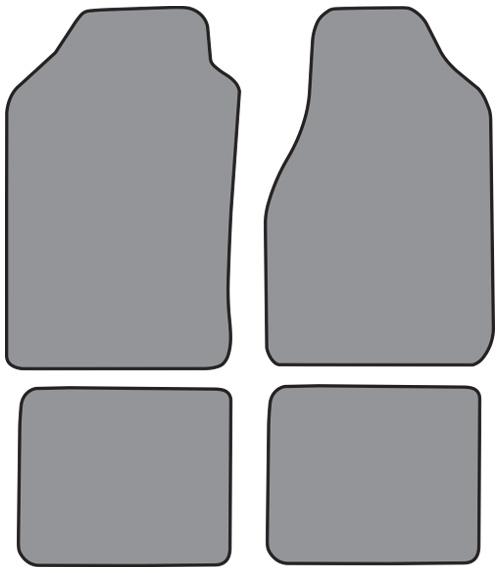 Dodge Intrepid Floor Mats: 1988-1990 Dodge Dynasty Floor Mats