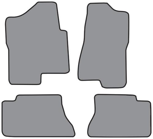 2005-2006 Chevrolet Silverado 1500 HD 4pc Floor Mats
