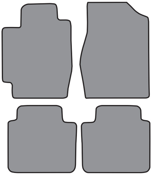 2002 2006 toyota camry 4pc floor mats factory oem parts. Black Bedroom Furniture Sets. Home Design Ideas