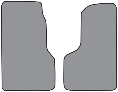 2003-2006 Chevrolet C4500 Kodiak Cutpile 2pc Factory Fit Floor Mats