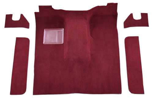 1974-1980 International Scout II Carpet Replacement - Cutpile - Passenger Area
