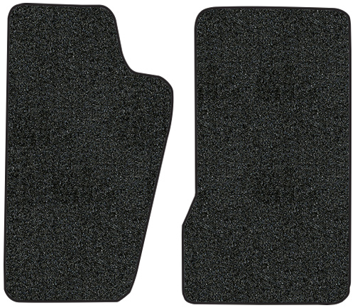 801-Black Plush Cut Pile Regular Cab ACC 1986 to 1992 Jeep Comanche Truck Carpet Custom Molded Replacement Kit