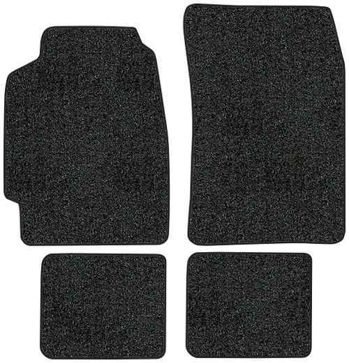1990 1993 Acura Integra Floor Mats 4pc Cutpile Fits