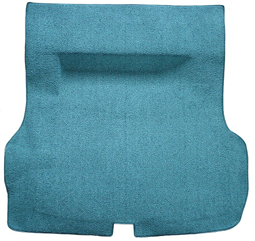 1955-1957 Chevy Bel Air Trunk Carpet - Molded - Loop | Fits: 2DR, 4DR, Hardtop, Sedan, w/o Spare Tire Cutout, Molded