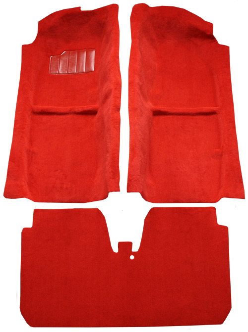 1985-1989 Toyota MR2 Carpet Replacement - Cutpile - Complete | Fits: Complete