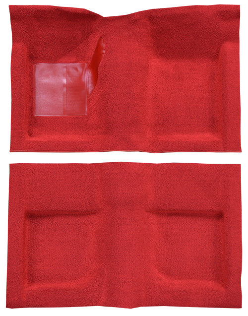 1965-1968 Ford Mustang Carpet Replacement - Nylon - Complete | Fits: Convertible
