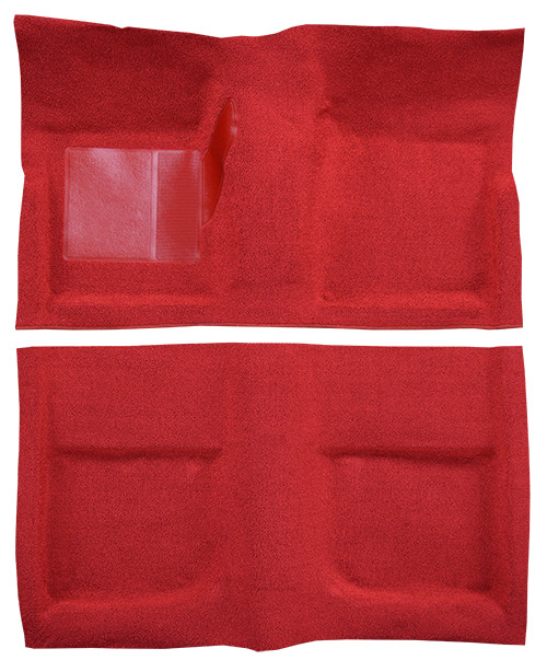 1965-1968 Ford Mustang Carpet Replacement - Nylon - Complete | Fits: Coupe