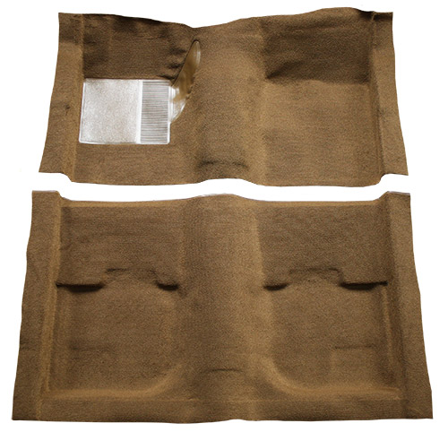 1969-1970 Ford Mustang Carpet Replacement - Nylon - Complete | Fits: Coupe