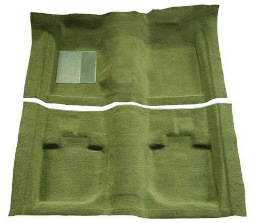 1971-1973 Ford Mustang Carpet Replacement - Nylon - Complete | Fits: Convertible