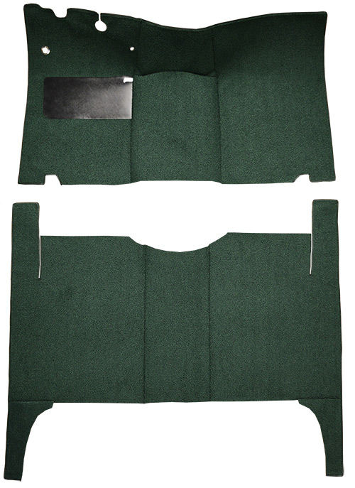 1952-1954 Ford Customline Carpet Replacement - Loop - Complete | Fits: 4DR, Sedan