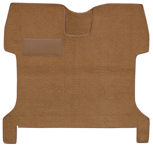 1957-1960 Ford F-100 Carpet Replacement - Loop - Complete | Fits: Regular Cab, 2WD, w/Gas Tank in Cab, Low Tunnel