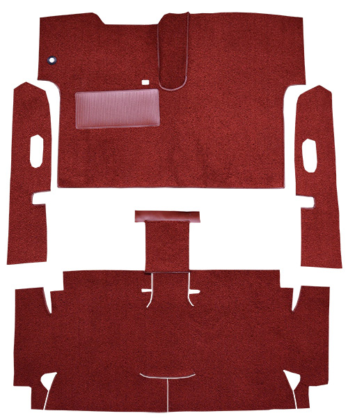 1962-1964 Chevy Corvair Carpet Replacement - Loop - Complete | Fits: 2DR, Convertible