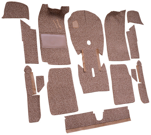 1966-1976 BMW 2002 Carpet Replacement - Cutpile - Complete | Fits: 2DR, Cut & Sewn